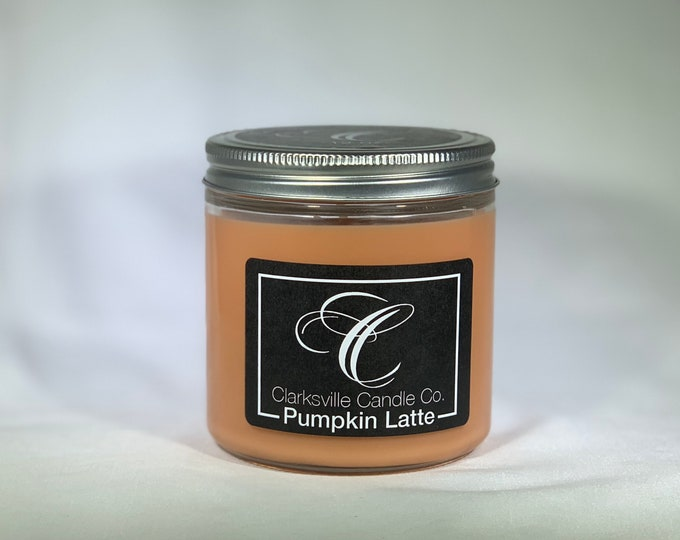 Pumpkin Latte  All Natural Soy Candle 12oz