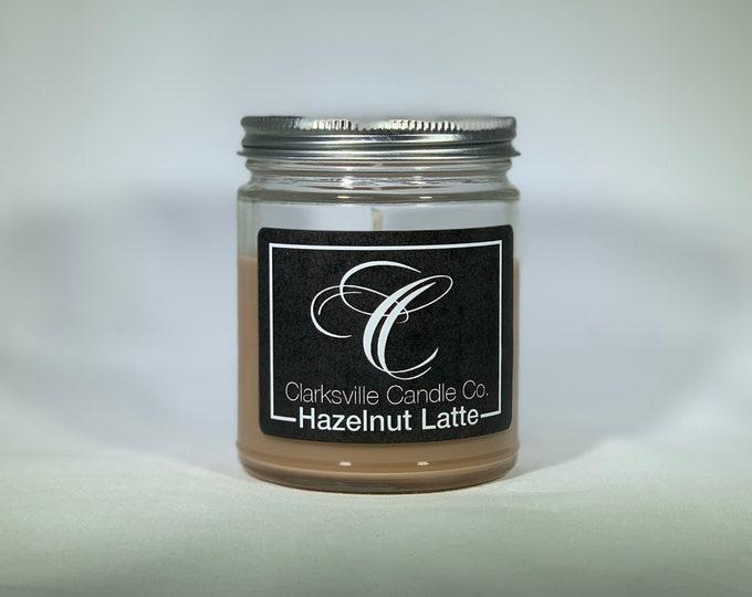 Hazelnut Latte All Natural Soy Candle 6oz