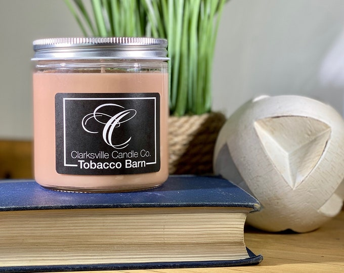 Tobacco Barn All Natural Soy Candle 6oz