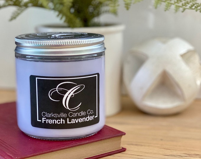 French Lavender All Natural Soy Candle 12oz