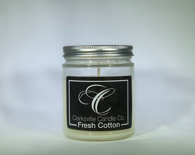 Fresh Cotton All Natural Soy Candle 6oz