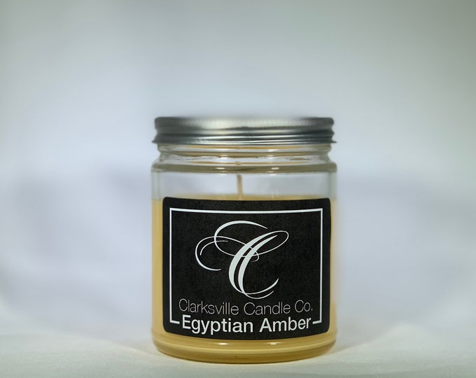 Egyptian Amber All Natural Soy Candle 6oz