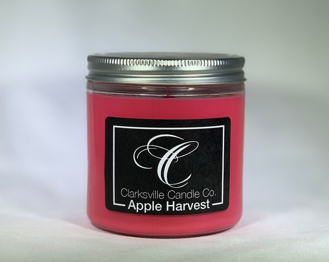 Apple Harvest All Natural Soy Candle 12oz