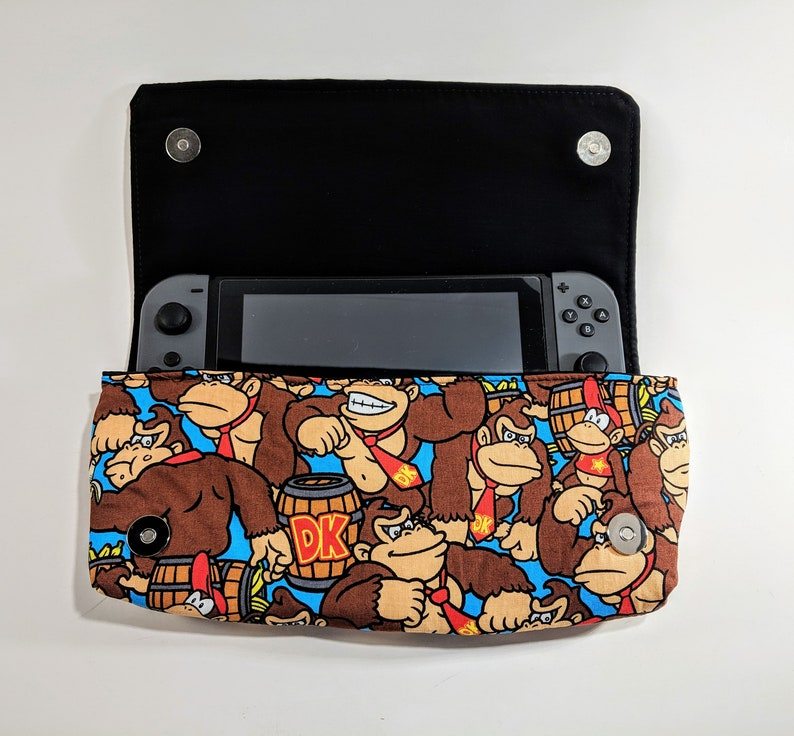 Nintendo Switch Case Donkey Kong Case DK Bag Gorilla Bag image 0