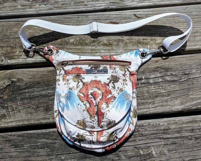 WoW Bag Leg Bag Fanny Pack Warcraft Bag Murloc Hip Pouch image 0