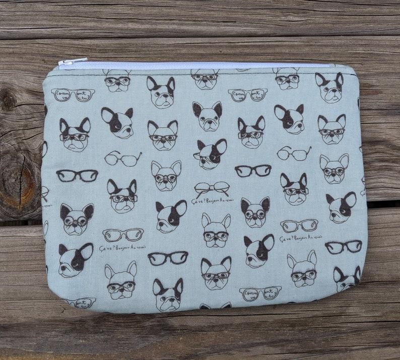 French Bulldog Pouch Dog Gift Dog Lover Bulldog Bag Dog image 0