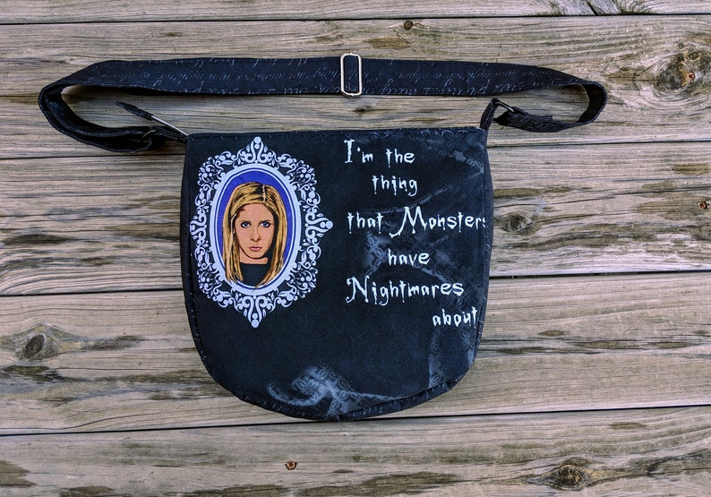Buffy the Vampire Slayer Purse BtVS Bag Chosen One Vampire image 0