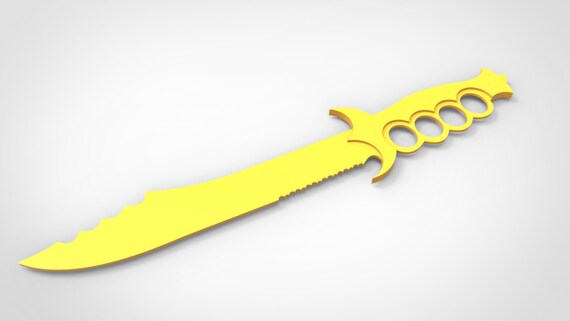 Pirate Sword Cnc Laser Cutting File Vector Model For