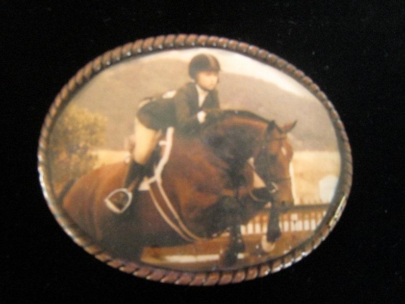 Custom Made Photo Belt Buckle