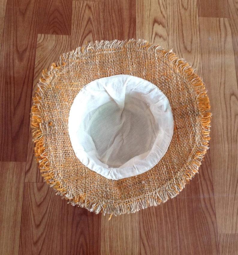 Bohemian Hemp Safari Hat