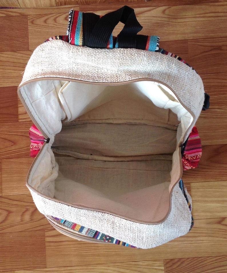 Vegan Large Hemp Backpack