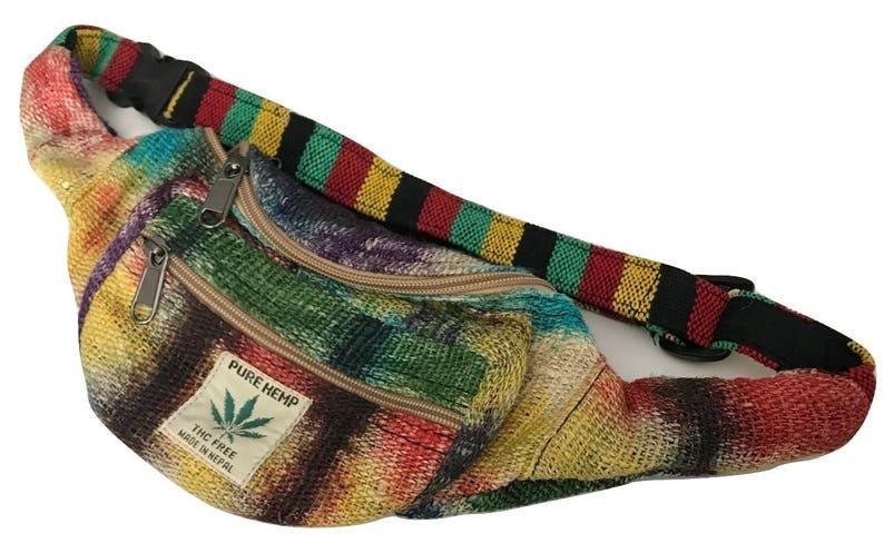 Multicolored Hemp Fannypack