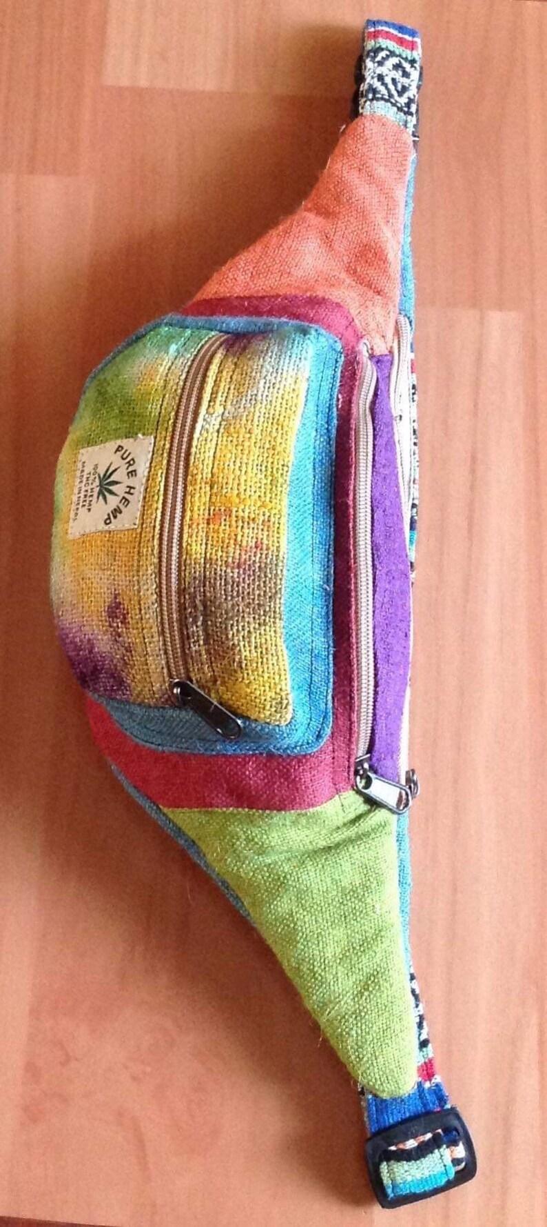 Tie Dye Vegan Hemp Fannypack