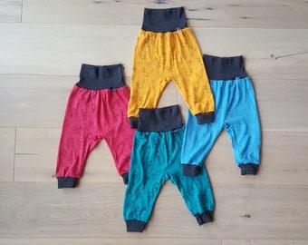 Baby-Pants: Glückskind  70% Merinowool & 30 Silk organic/GOTS - handcrafted