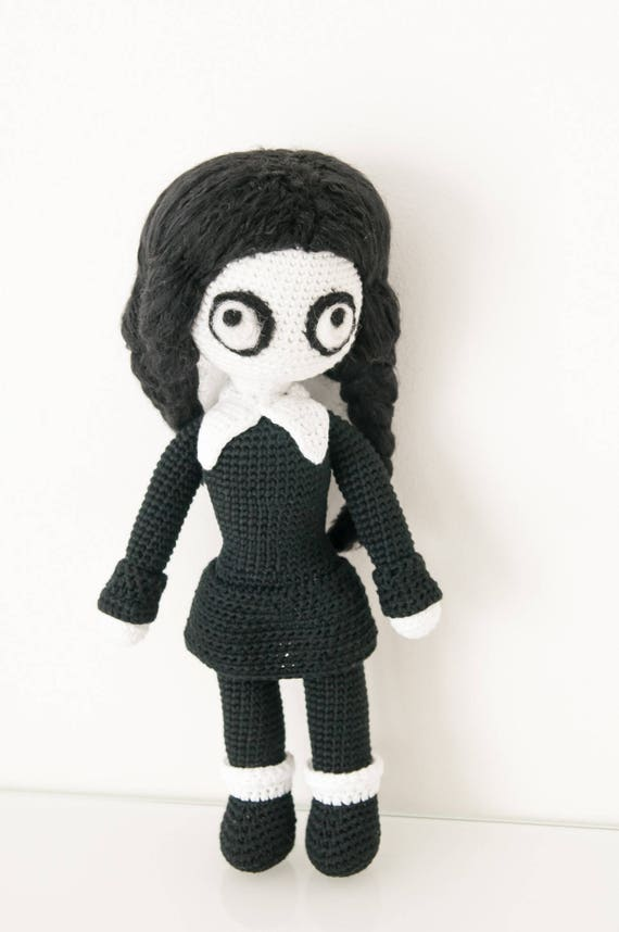 Wednesday Addams crochet pattern / PDF EN | Etsy