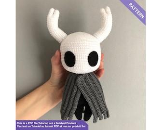 Hollow Knight crochet pattern, Crochet pattern amigurumi, Crochet pattern, Instant download PDF Files EN - FR