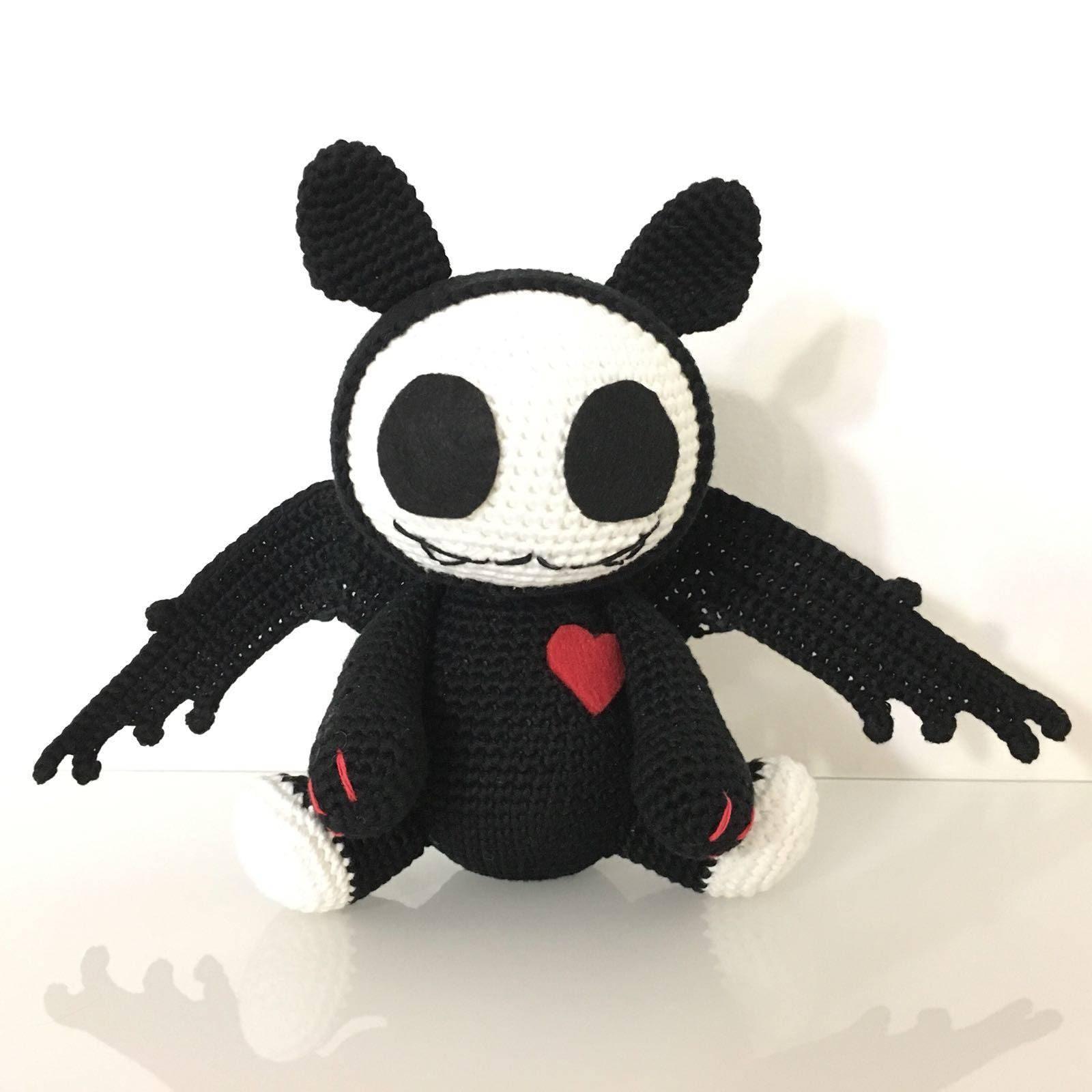 Bat crochet pattern / PDF EN / Halloween   Etsy