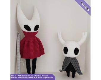 Hollow Knight and Hornet, Crochet patterns, PDF Files EN - FR