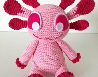 Axolotl crochet pattern / PDF EN