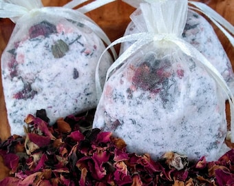 Mother's Day Gifts-Spa Gifts-Rose Bath Soak-Rose Bath Tea-Bath Tea-Floral Bath Soak-Floral Bath Tea-Organic Bath Soak-Natural Bath Soak-