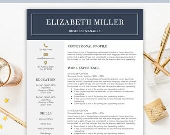 professional design resumes