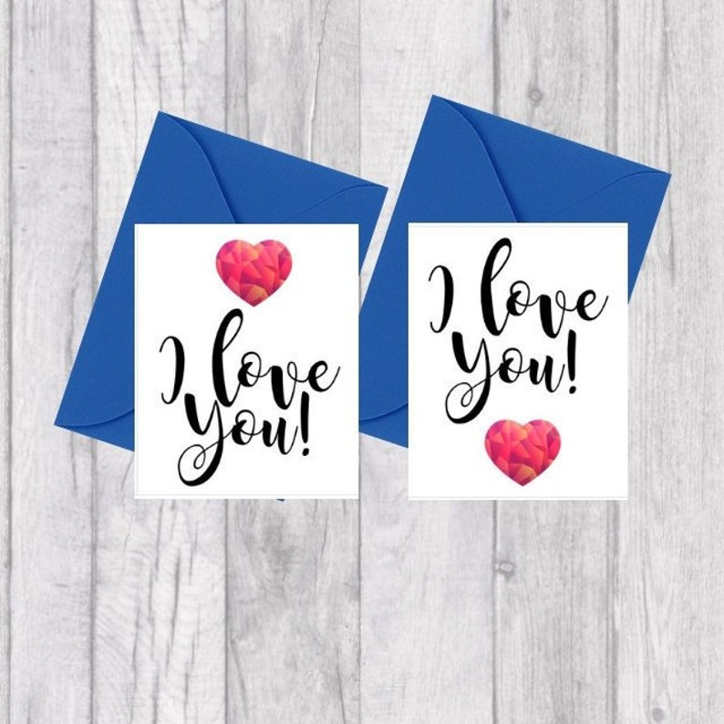 photo relating to I Love You Printable Cards titled Tiny I Enjoy Oneself Printable Card Bbhsweet Reward Card Marriage  Anniversary Valentines Working day
