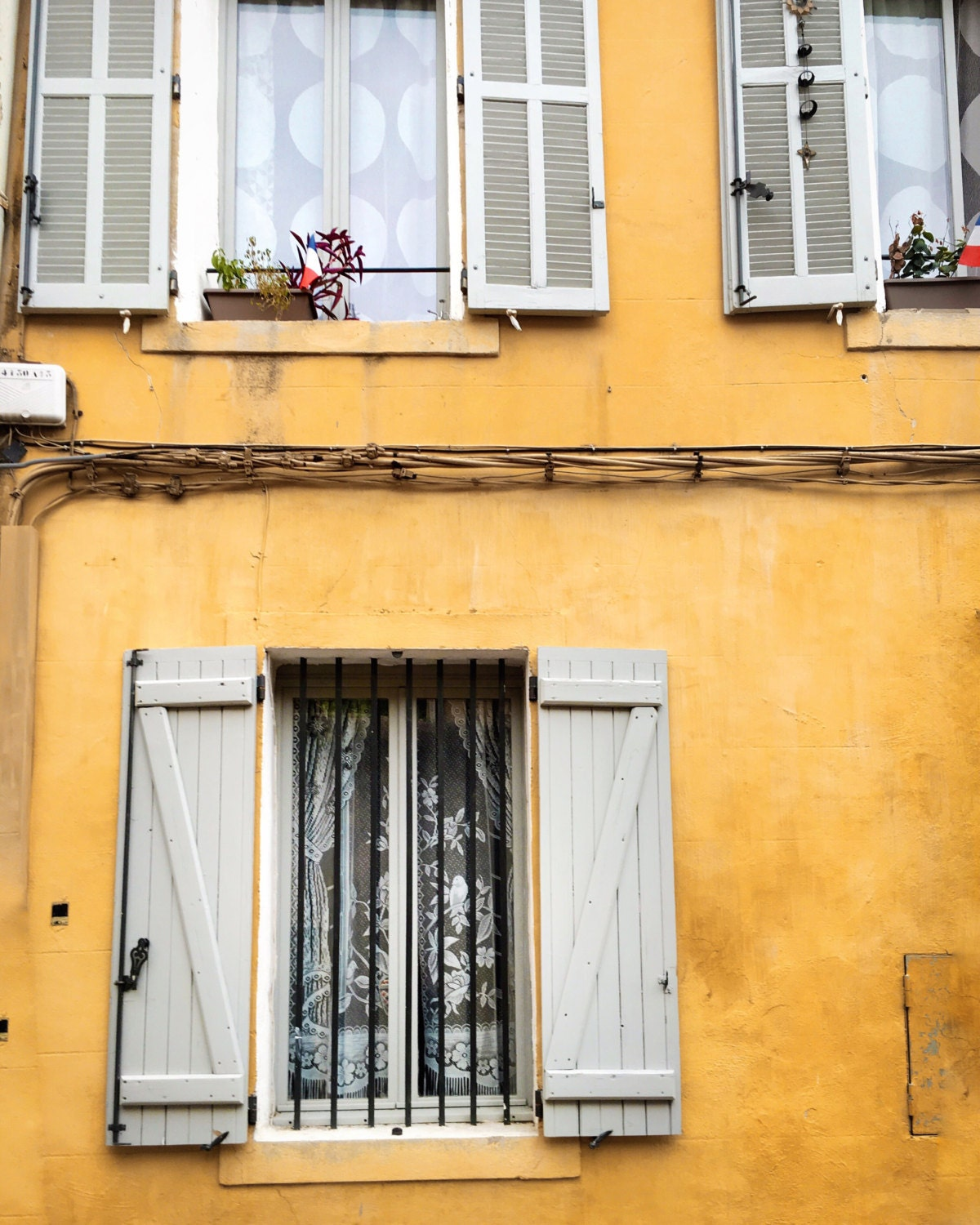 Provence Photography, French Decor, Yellow, Design, French Window ...