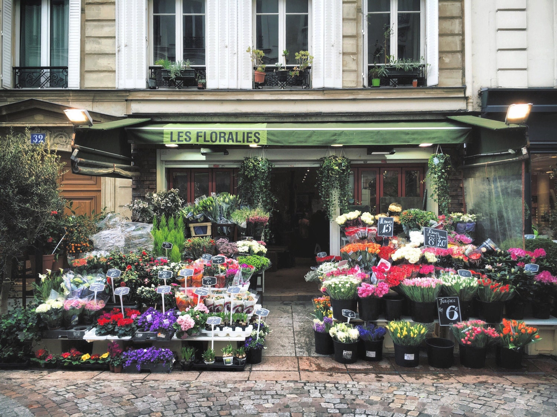 Магазин цветов париж, база цветов смоленске