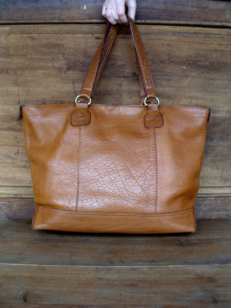 8c148ffc6909 Women bag vintage leather tote handmade vintage bag vintage