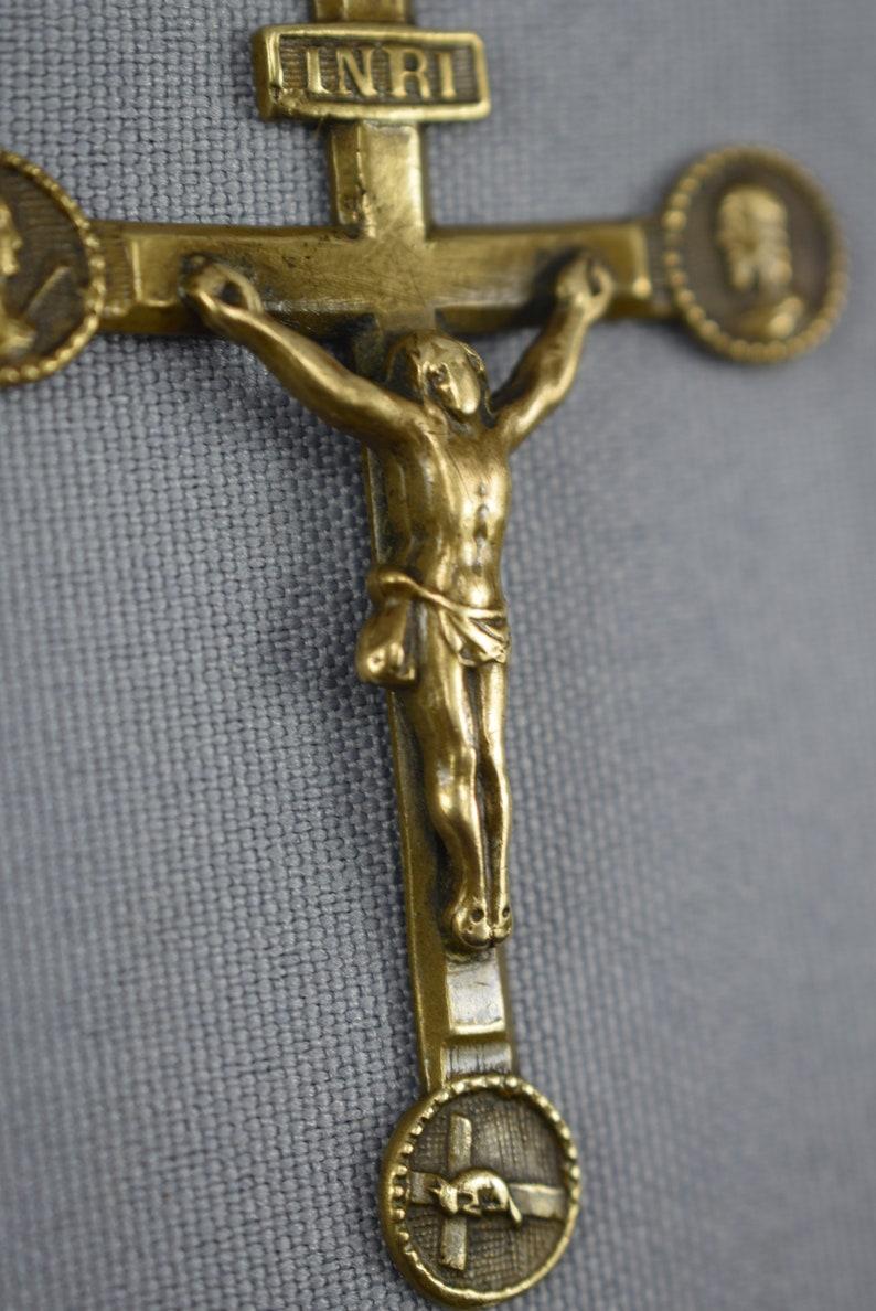 New Gift Religions,baptism,christening Baby Boy/girl Handmade Gold Cross Set Baby & Toddler Clothing
