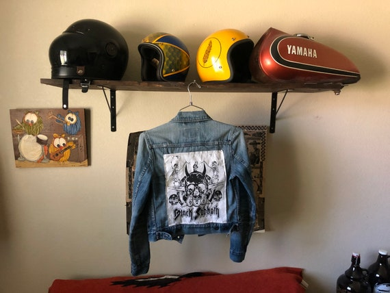 Levi's jacket BLACK SABBATH patch