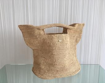 Barbados oversized bucket bag