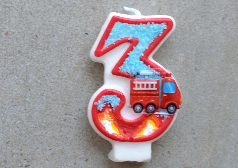 Fire Truck Birthday Engine Theme