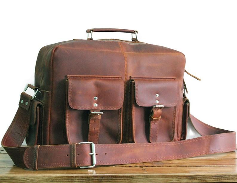 af3bbc22afe8 Men Leather Messenger Bag Laptop Bag Men Leather Bag Flight