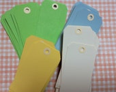 "Large Craft Tags Size #5 4.75"" x 2.375"" Blank Scrapbook Scrapbooking Supplies Shipping Tags Kraft Gift Tag Plain ready to decorate"