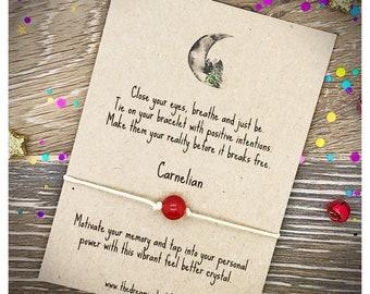 Gemstone Wish Bracelets