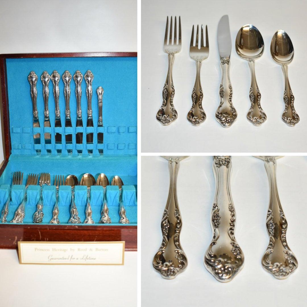 Reed /& Barton WISTERIA Silver Plated Silverware Flatware CHOICE
