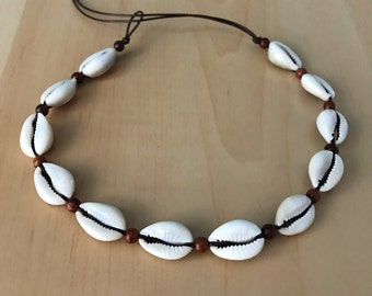 Cowrie Shell Choker Necklace ~ SummerSolstice