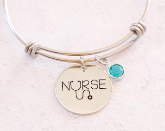 Nurse Gift, Nurse Charm, Nurse Bracelet