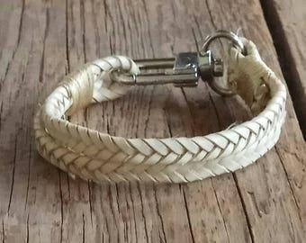 Gold braid bracelet, friendship bracelet, Bracelet braided, wish bracelet, Simple Bracelet, Indian bracelet, Simple & modern bracelet