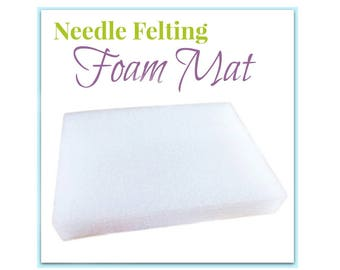 Needle Felting Pad, Felting Foam Mat, Needle Felting Underlay, Felting Block Dry Felting Pad, Felting Supplies, Felting Surface Protection