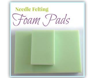 Needle Felting Foam Pad, Felting Sponge Needle Felting Underlay, Felting Block Dry Felting Pad, Felting Supplies, Felting Surface Protection