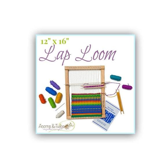 Weaving Loom Kit Lap Loom Loom Kit Beginner Weaving Frame | Etsy