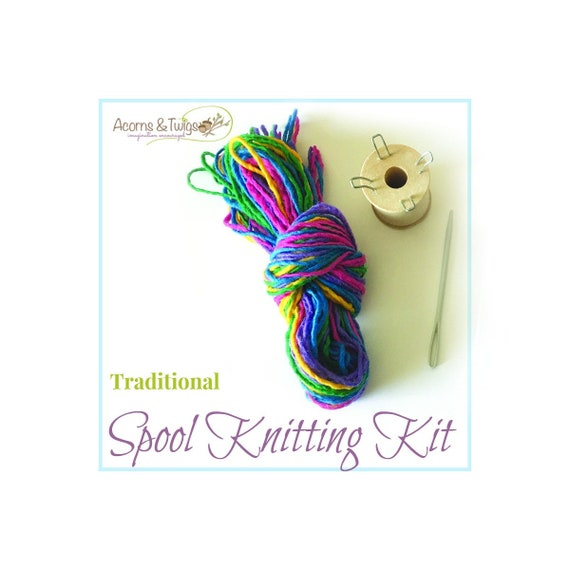 Knitting Nancy Kit Traditional Knitting Spool Set Wood | Etsy