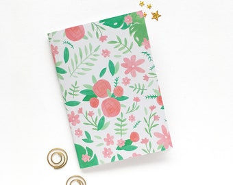 A6 Notebook - Journal Notebook - Lined Notebook - A6 Lined Journal - A6 Pocket Notebook - Cute Stationery - School Notebook - Gift for Her