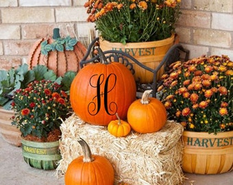 pumpkin decal boo halloween fall decor outdoor decor home decor pumpkin sticker porch decal decal personalized decal