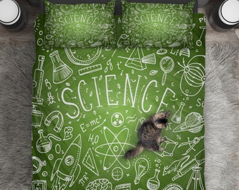 Science Bedding Etsy