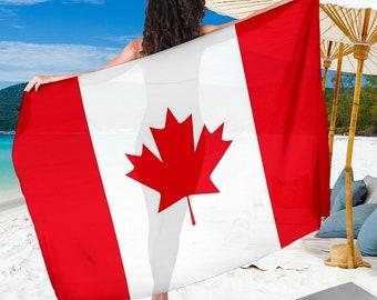 cf803c5452f Canadian flag scarf | Etsy