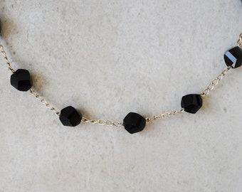 necklace with onyx
