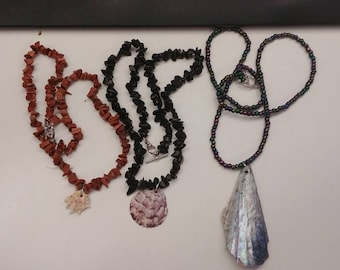 Shell Bracelets/Necklaces (LIMITED SUPPLY)